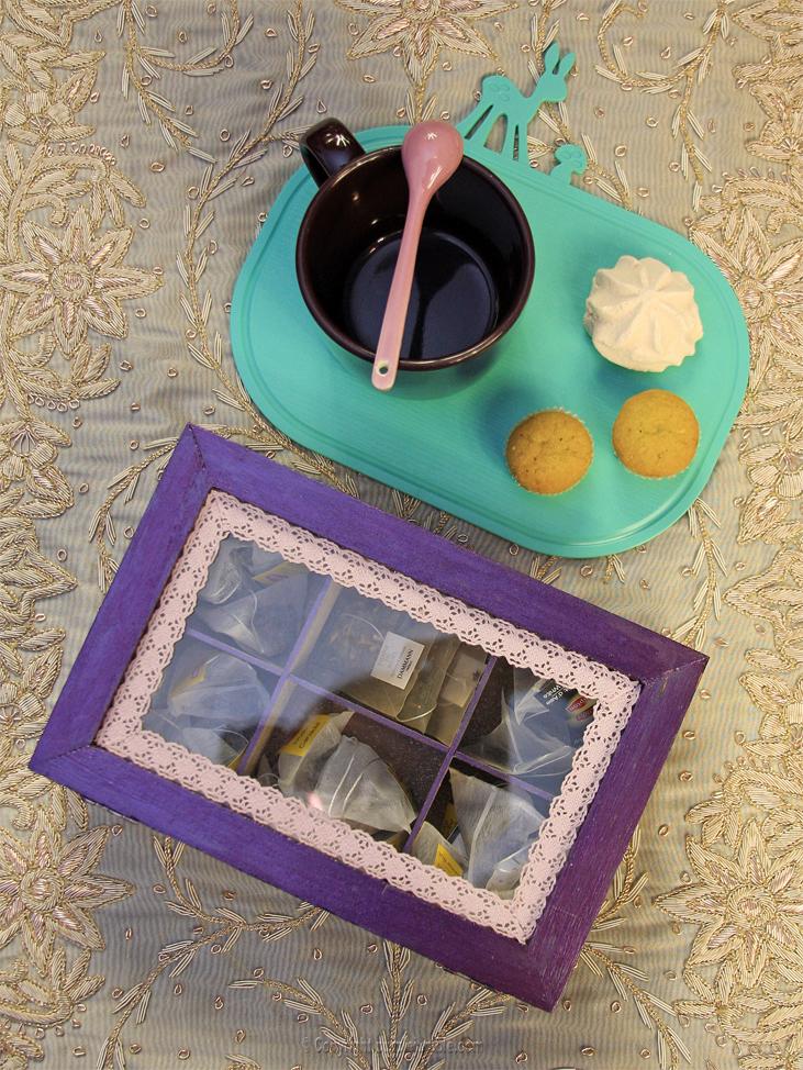 boite thé customisée