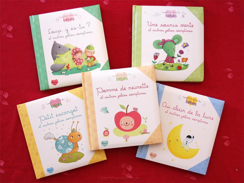 livres comptines bébés fleurus