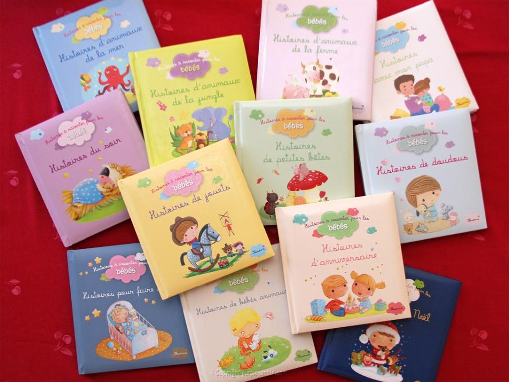 livres histoires bébé fleurus