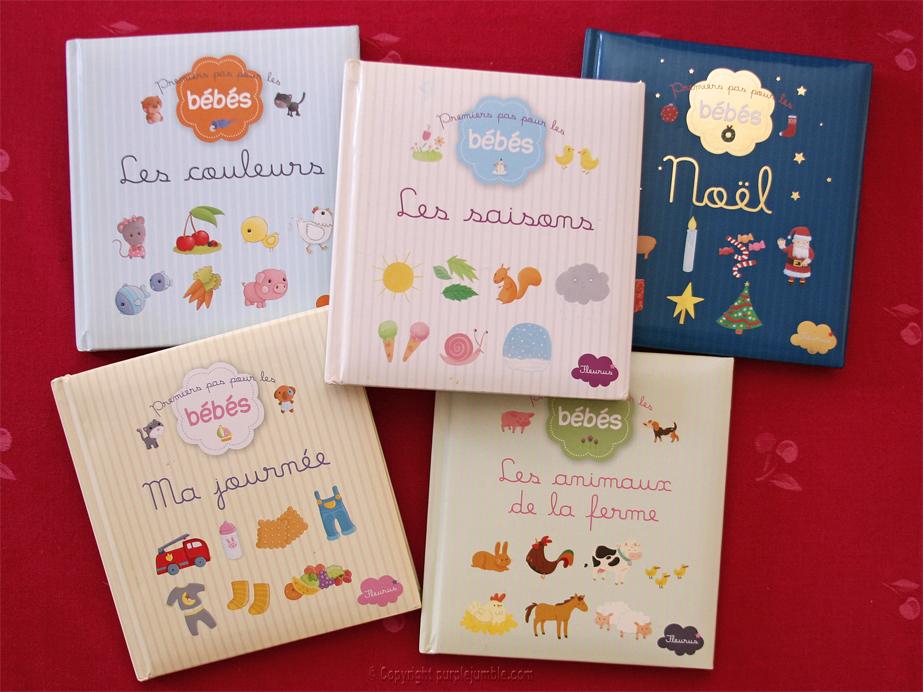 livres premiers pas bébés fleurus