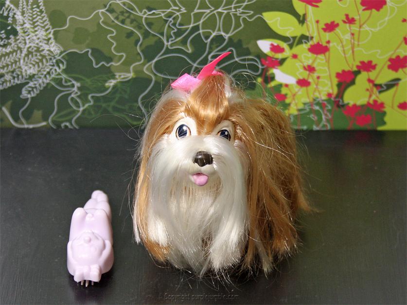 jouet chien vintage sweety pups