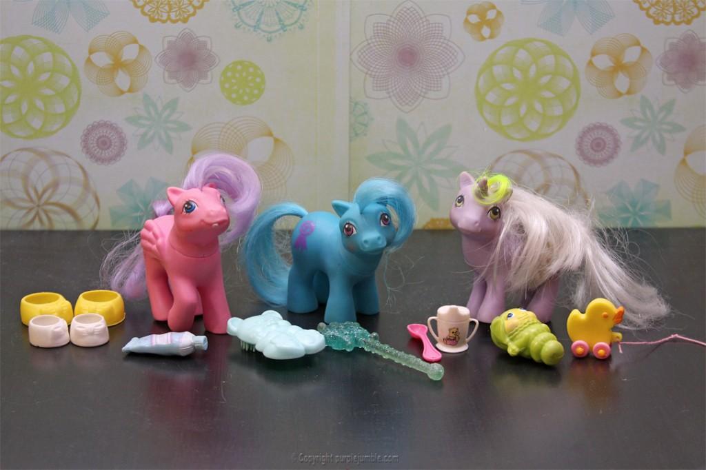 petits poneys vintage
