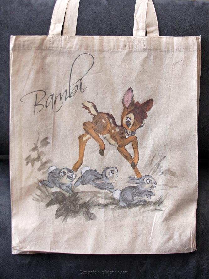 tote bag bambi primark