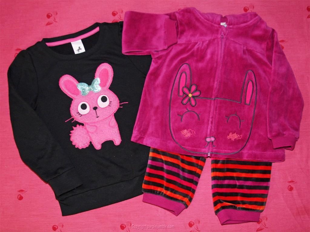 vêtements filles lapin