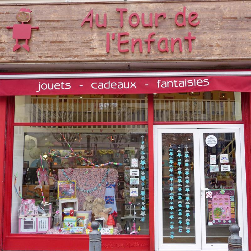 boutique autour de l'enfant Marseille