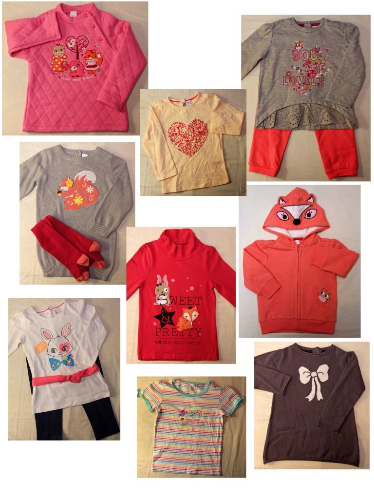 sélection C&A vêtements fille
