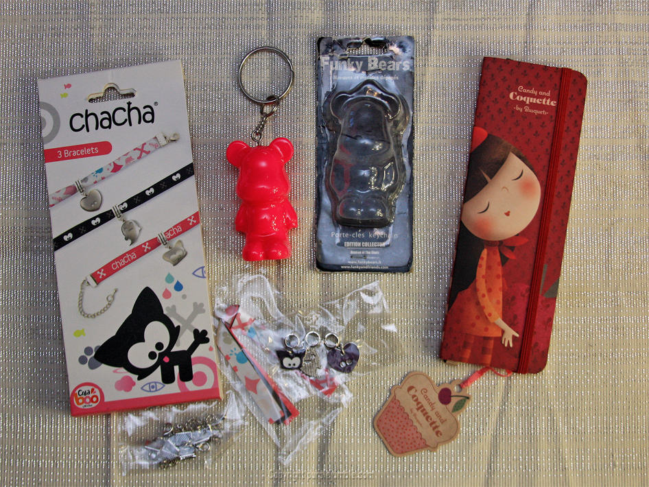 soldes fnac funky bears chacha candy and coquette