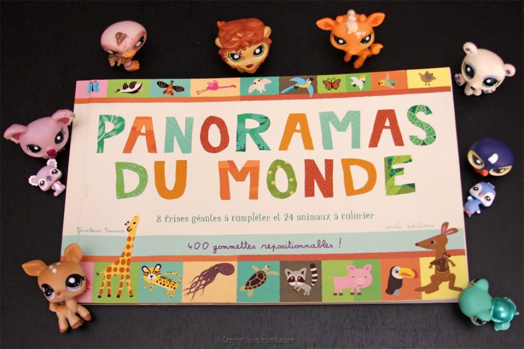 livre panorama du monde