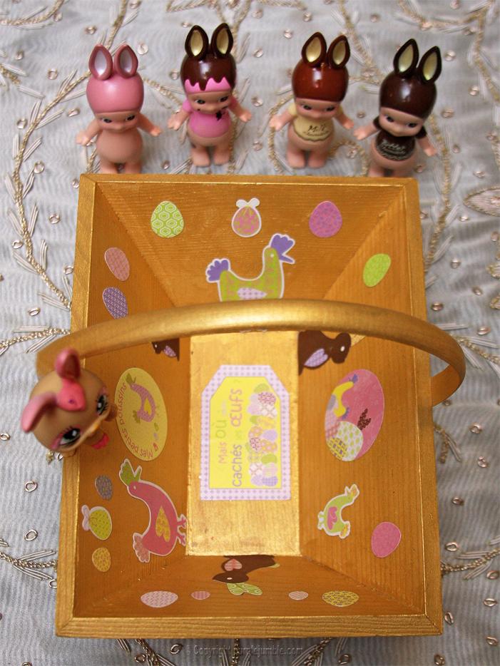 DIY panier de Pâques
