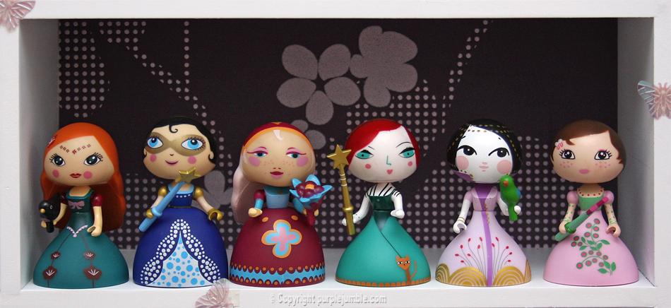 Arty Toys Djeco princesses fées