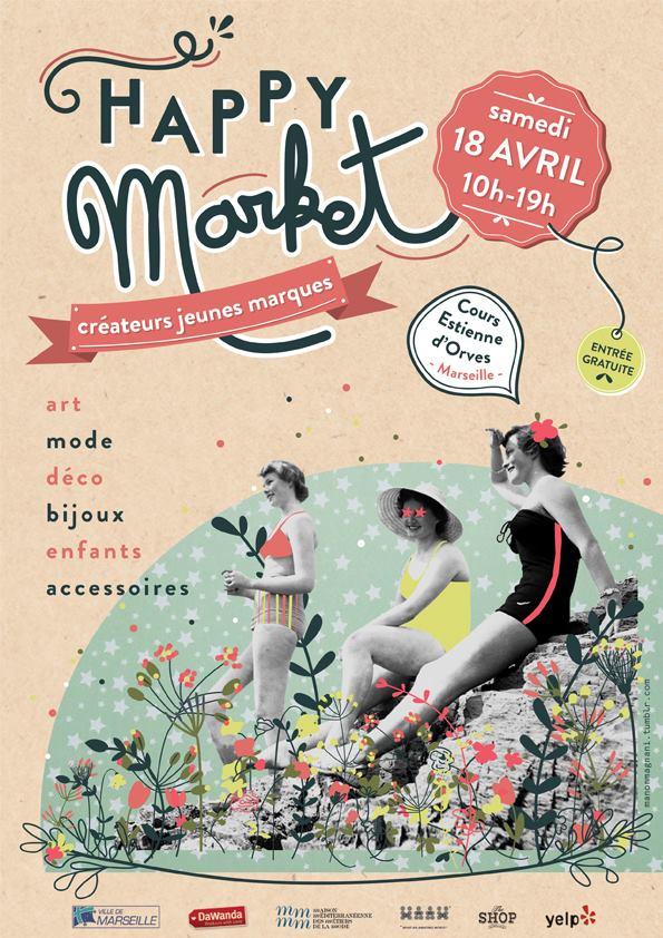 affiche Happy Market