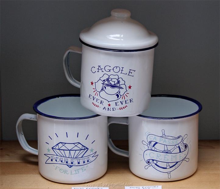 Lolita Picco mugs émaillés
