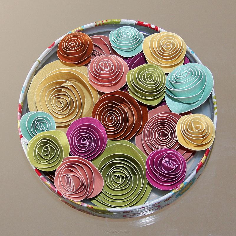 DIY fleurs papier