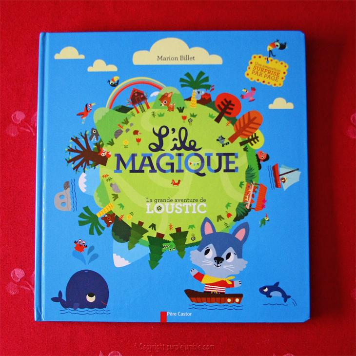 livre loustik l'île magique