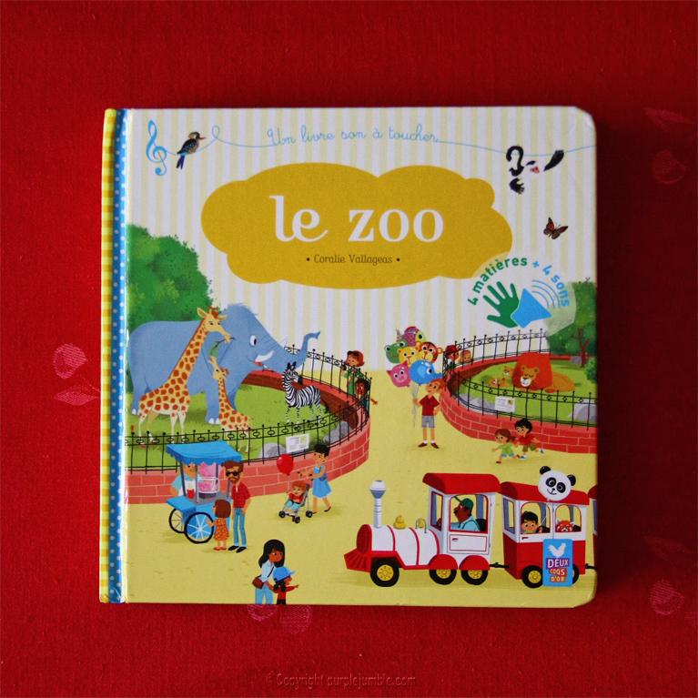livre à toucher le zoo
