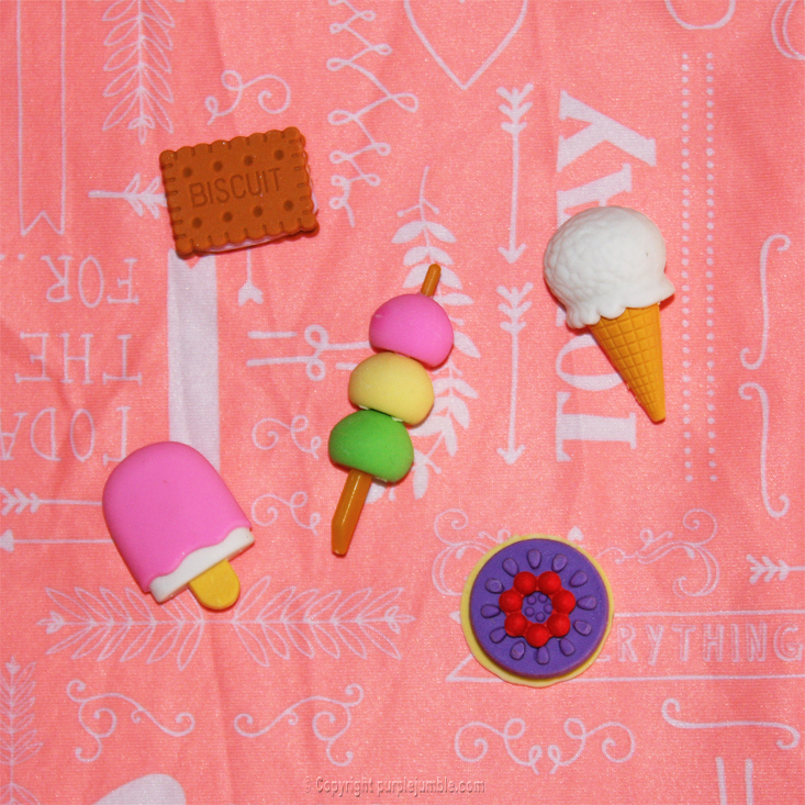 hema gommes kawai glaces