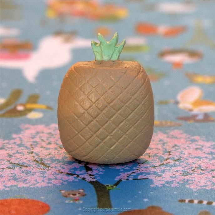 DIY broche ananas
