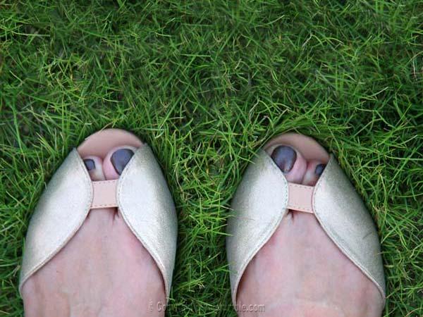 sélection glitter chaussures naf naf