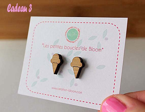 boucles d'oreilles Bloom