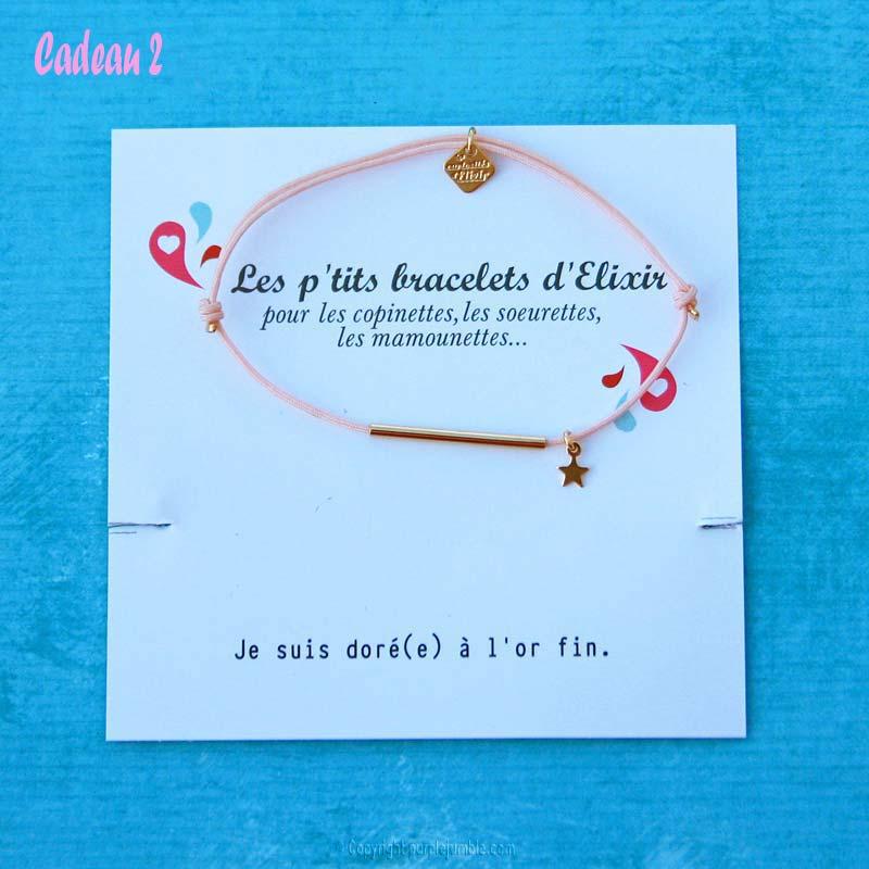 bracelet Les Curiosités d'Elixir