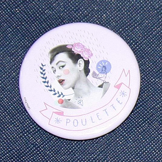 DIY pimp ma pochette badge Lolita Picco