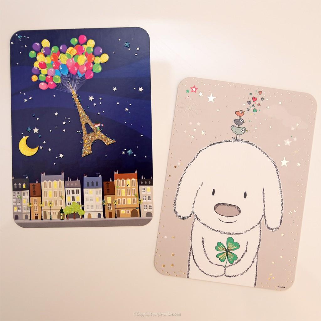 cartes postales deco