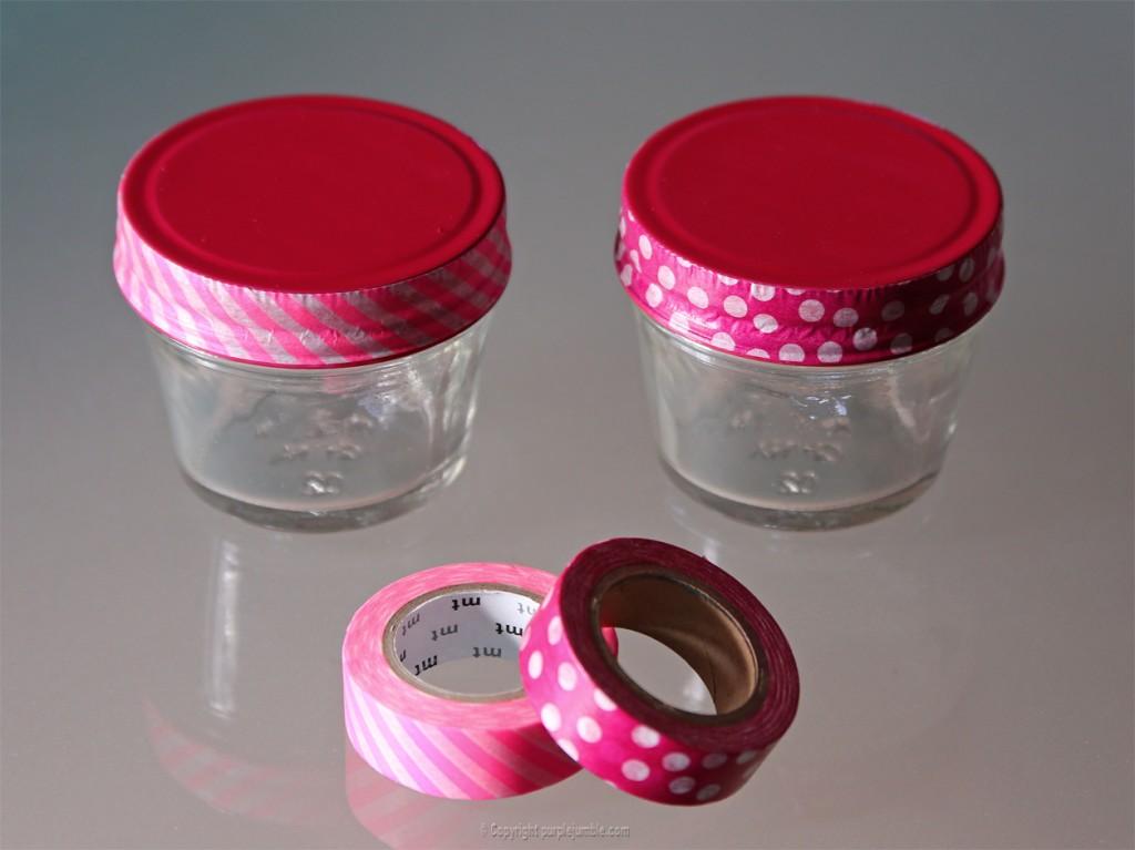 diy détournement pots jars