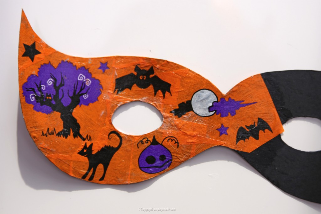 DIY masque halloween