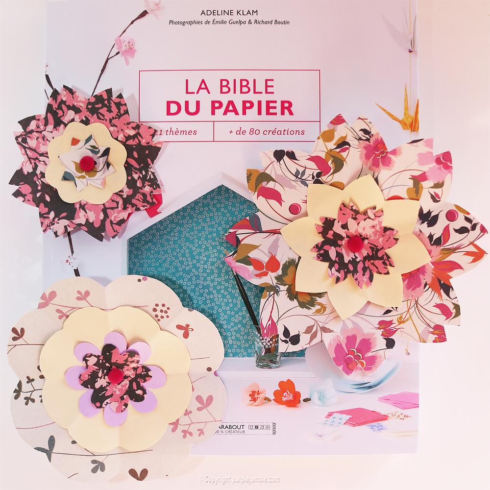 livre Adeline Klam la bible du papier