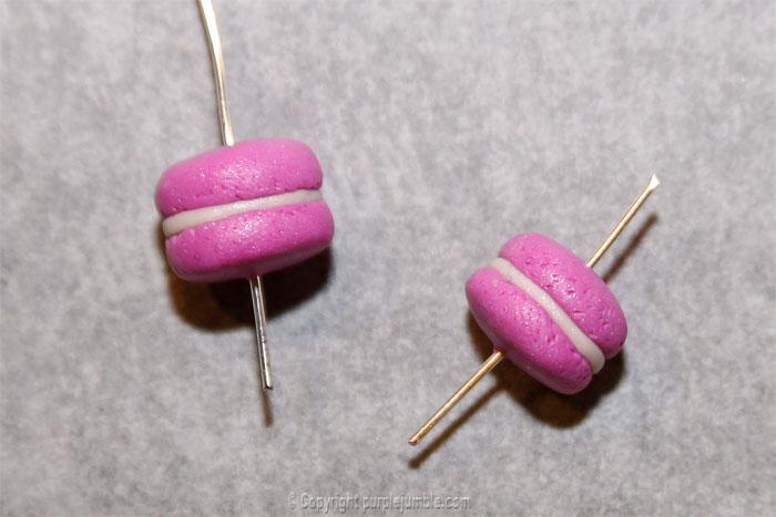 DIY macarons fimo