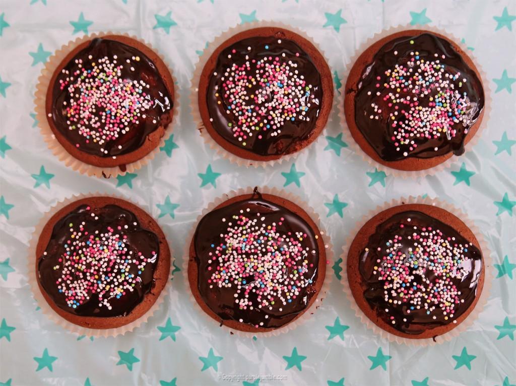 goûter anniversaire muffins