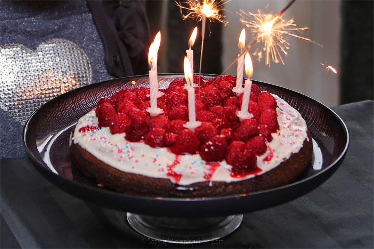 goûter anniversaire gâteau