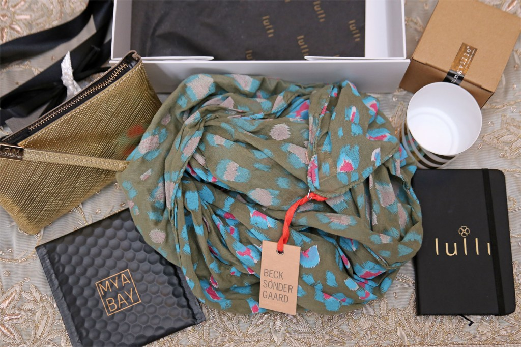 Lulli Box  foulard Beck Sonder Gaard