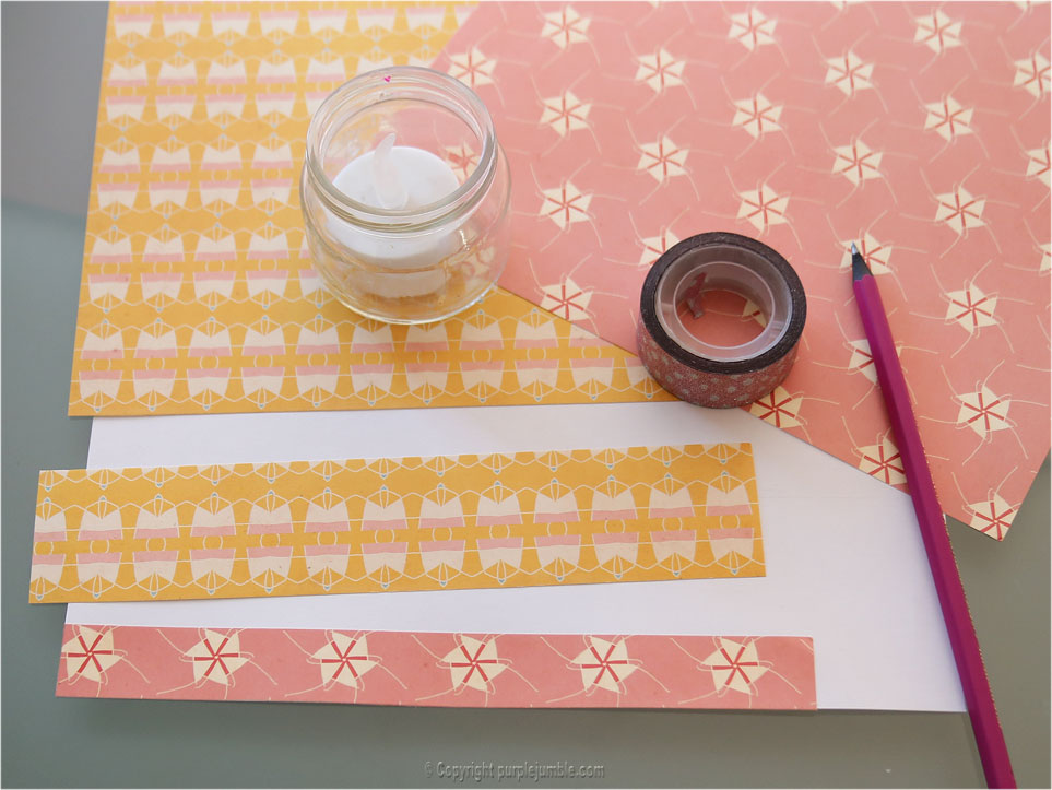 DIY photophores en papier