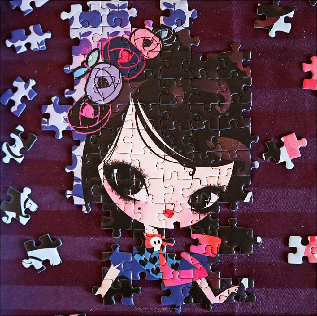 puzzle arc en ciel Lilidoll Betty & cie