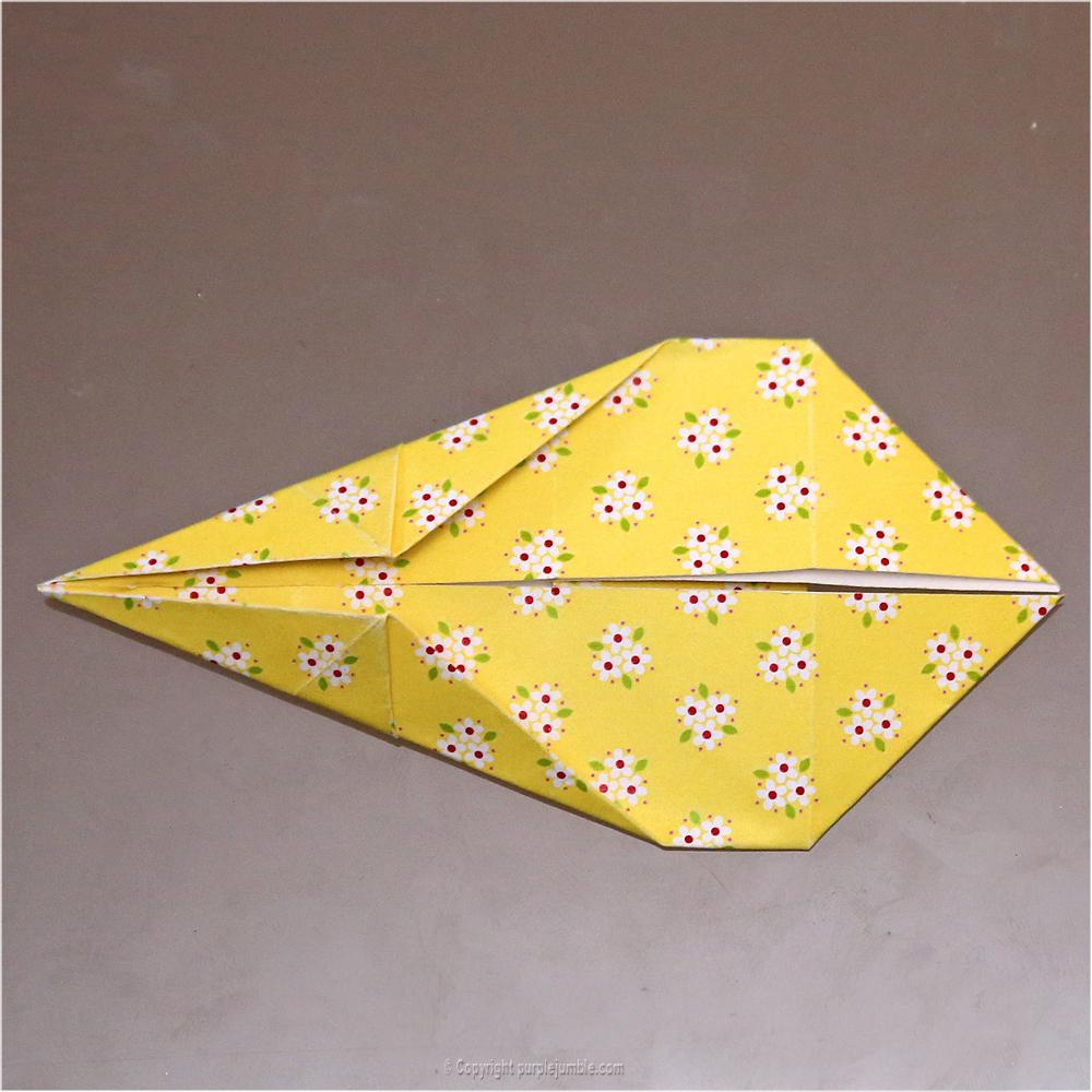 DIY lapin origami