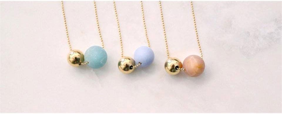 by sidonie bijoux colliers