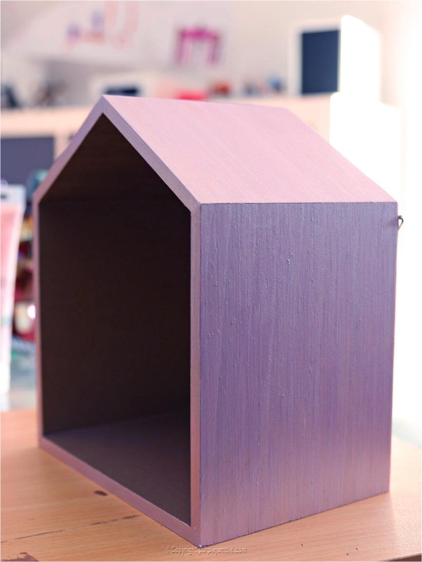 diy étagères maisons en bois