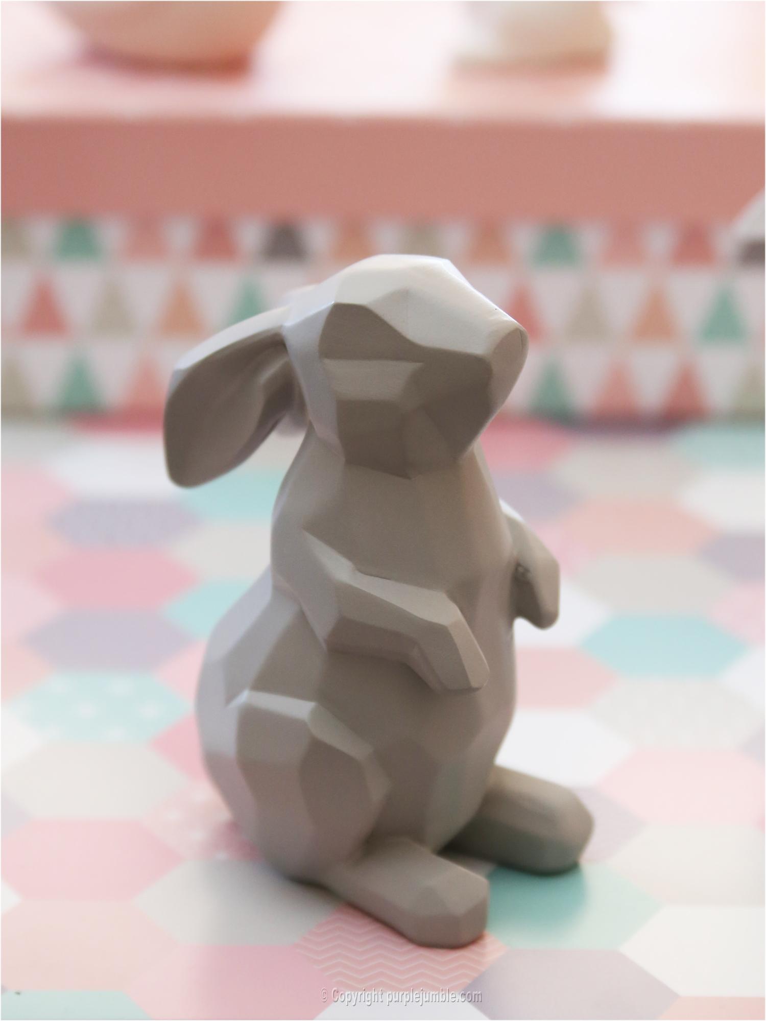 Maisons du monde lapin origami