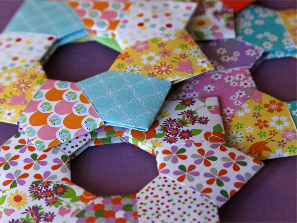 DIY étoiles origami fifi mandirac