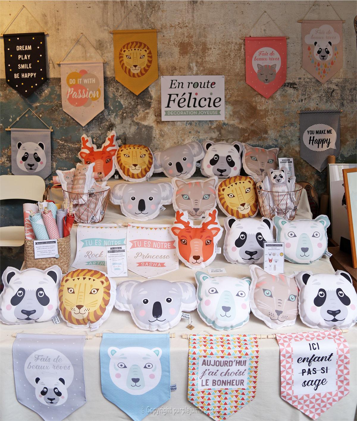 créations décoration enfants En Route Félicie