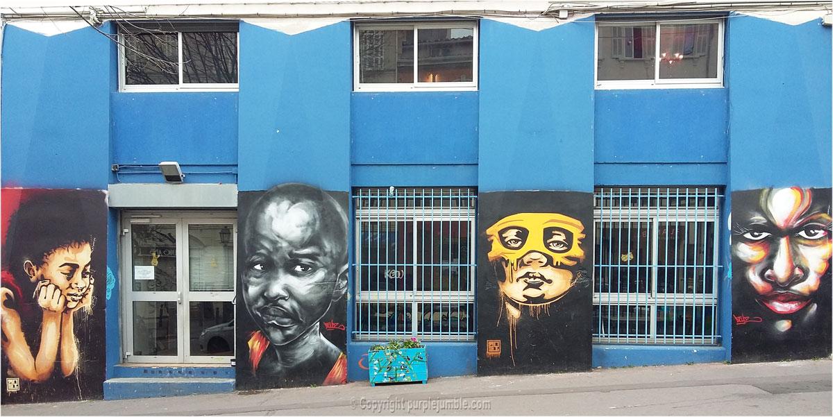street art Marseille cours Julien