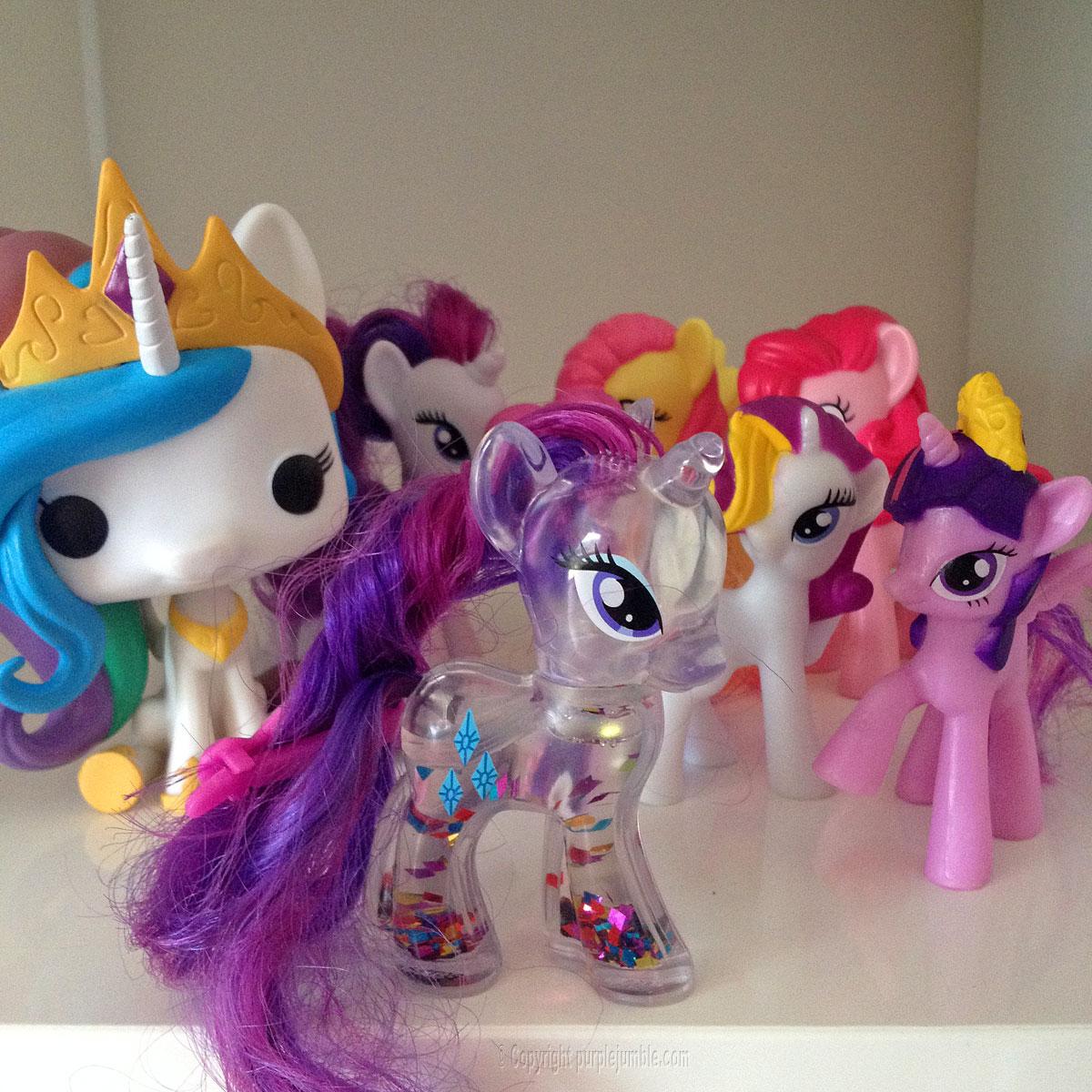 petit poney my little pony paillettes
