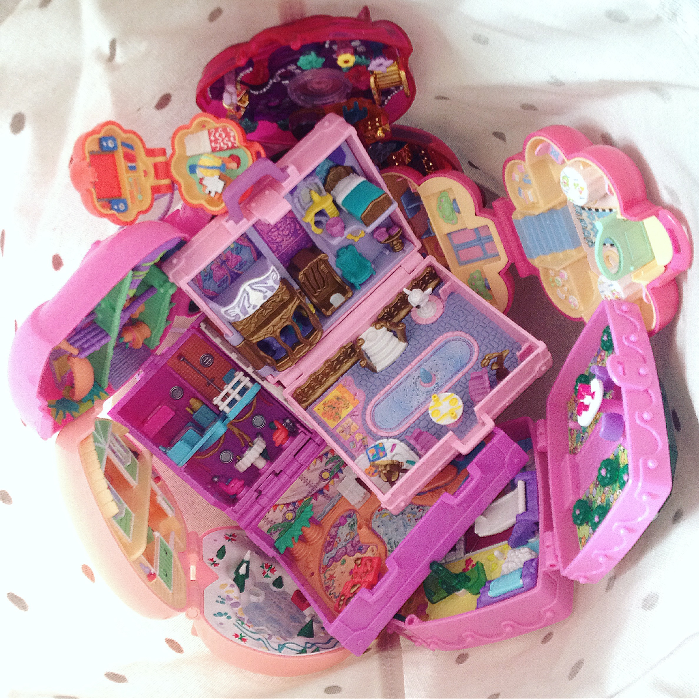 polly pocket vintage bluebird