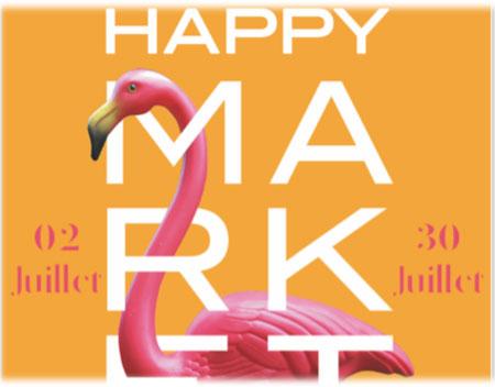 affiche happy market nocturnes