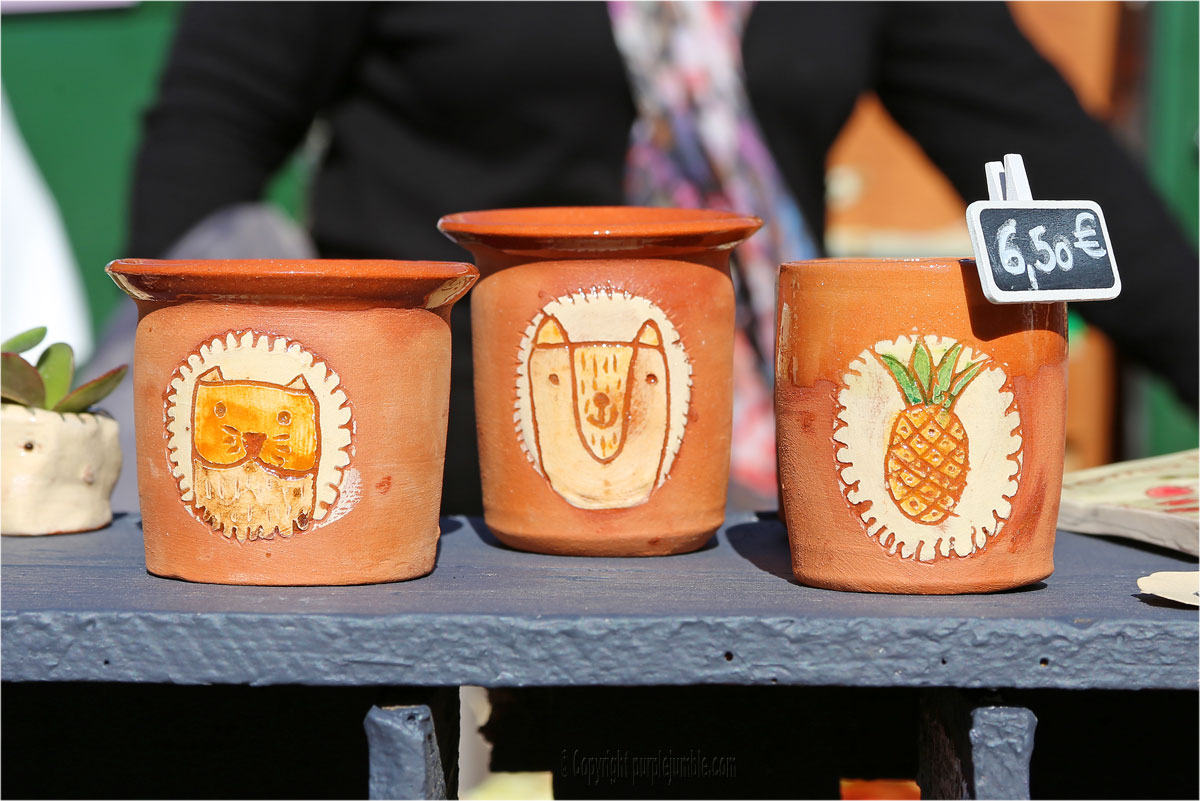 les pots de vanille créations céramique