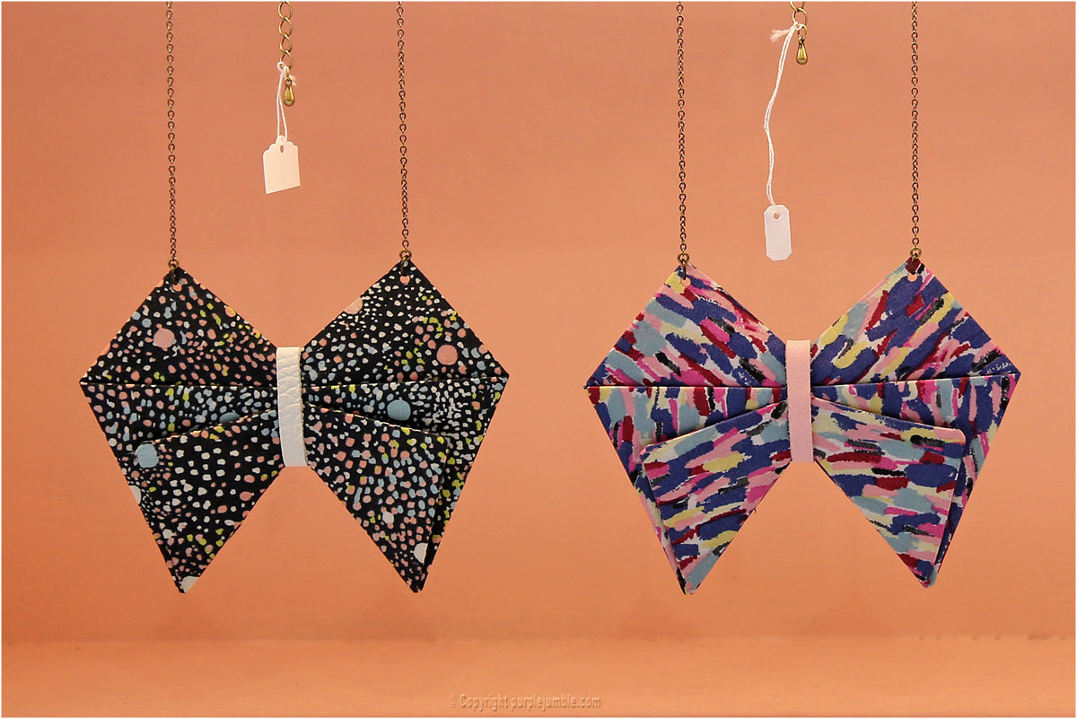 mademoiselle Lau création bijoux tissu