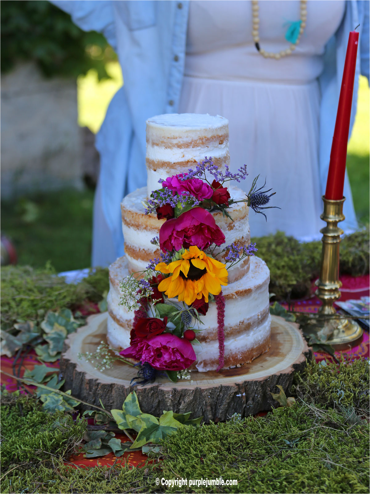 south vintage festival gateau mariage Louis Patissier