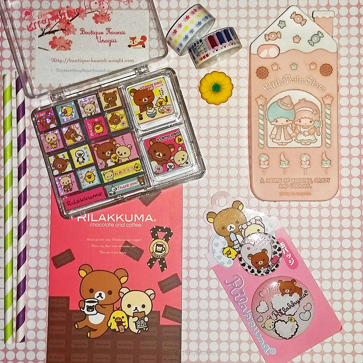 boutique kawaii usagiii rilakkuma