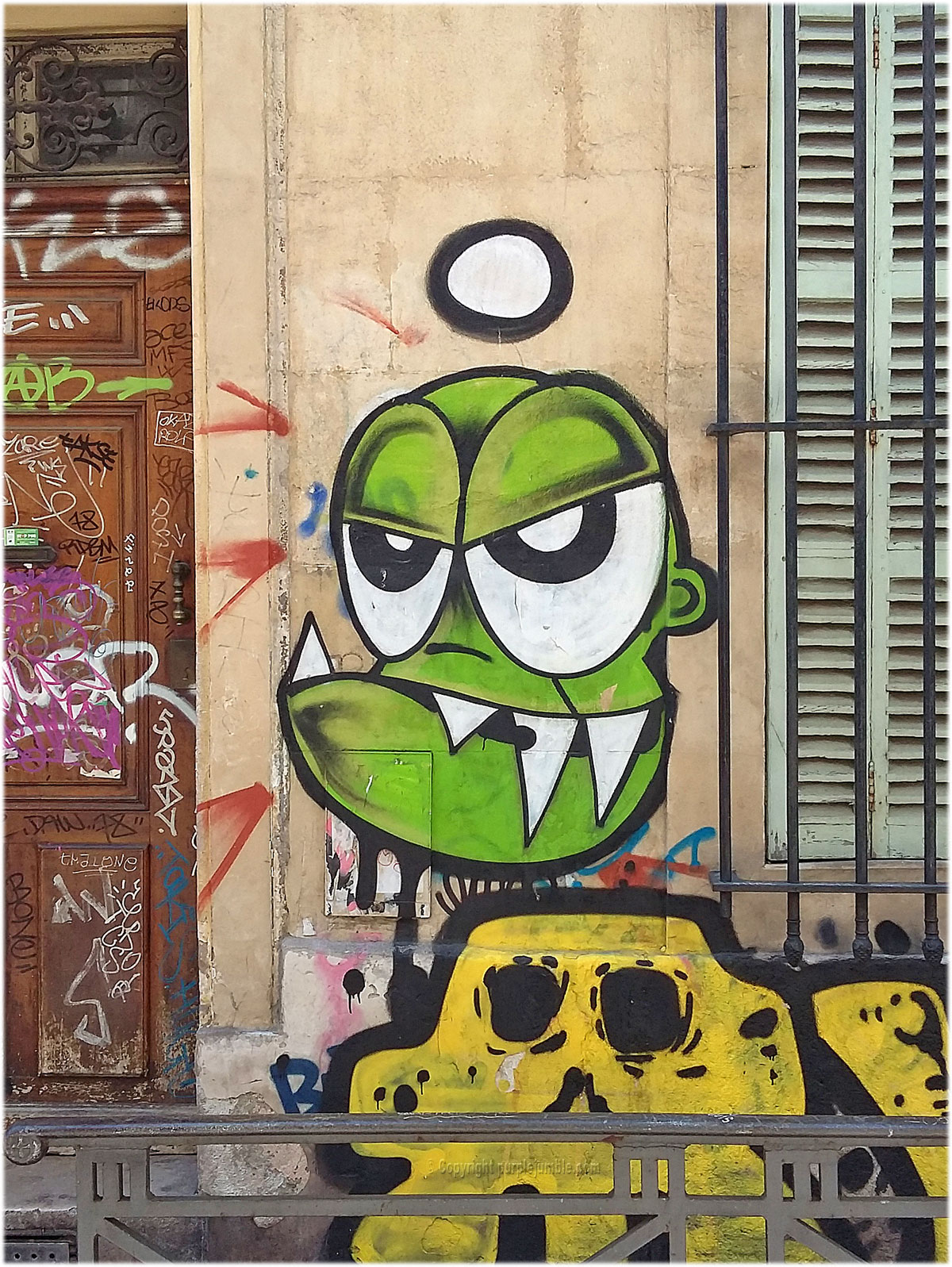 street art marseille graffiti